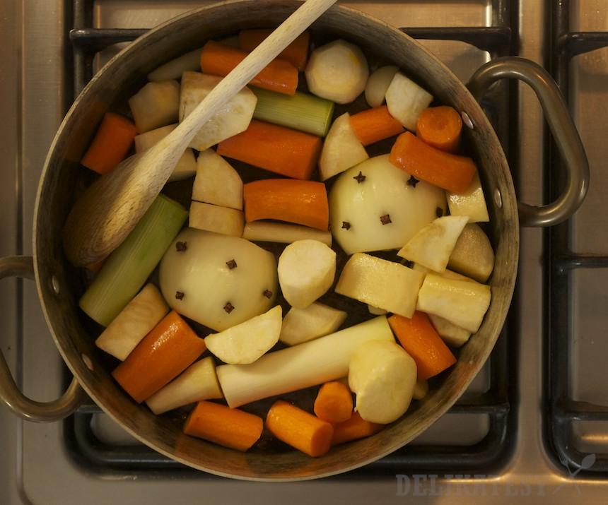 Krátko orestovaná zelenina