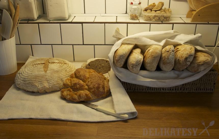 Chlebové bagety