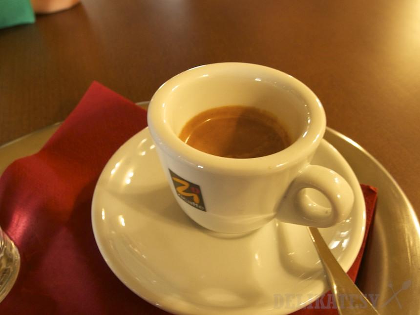 Espresso v Hoteli Bristol