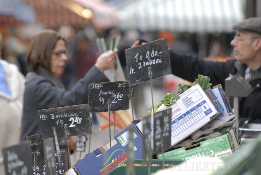 Na rakúskom trhovisku