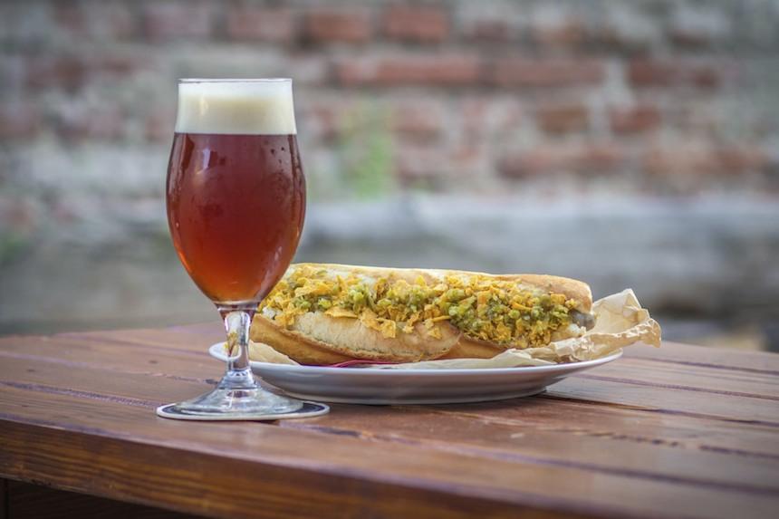 Hot-dogy v Beer Time