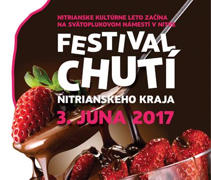 Festival chutí Nitrianskeho kraja 2017