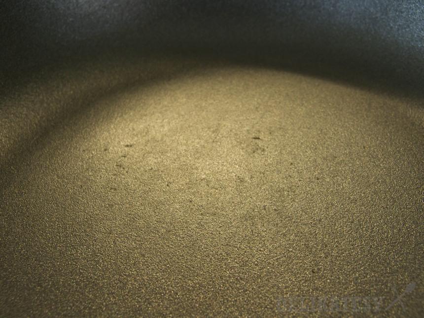Povrch panvice Woll