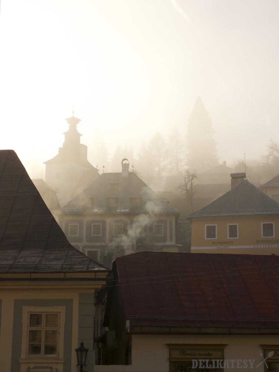 Banská Štiavnica a inverzia