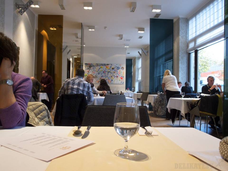 Interiér reštaurácie Hotela Lev