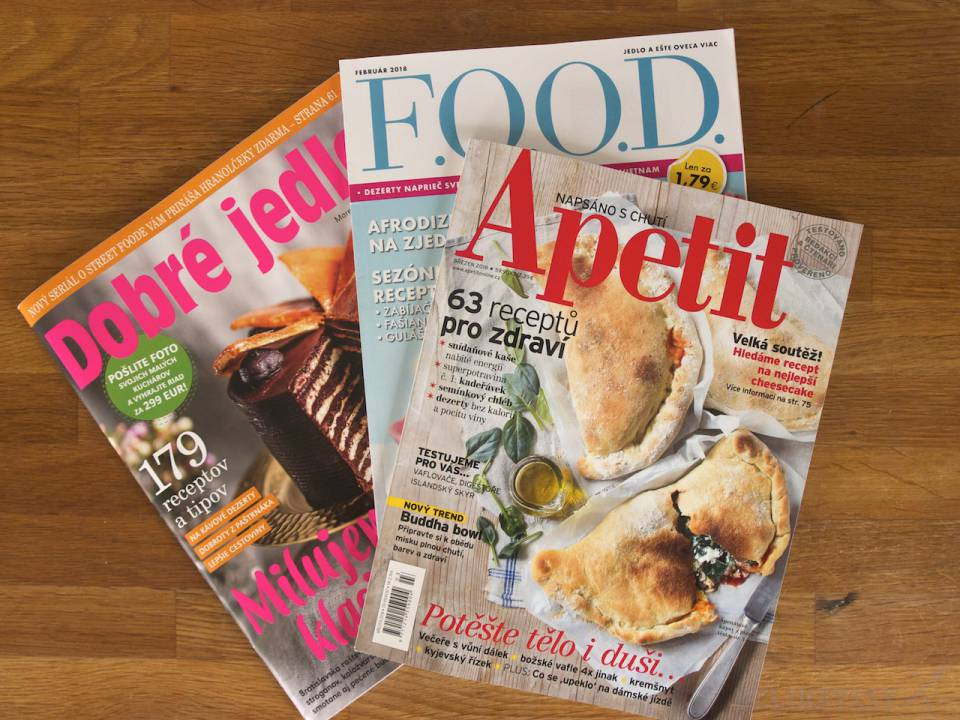 Dobré jedlo, F.O.O.D. a Apetit