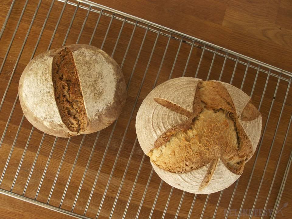 Celoražný a pšeničný chlieb