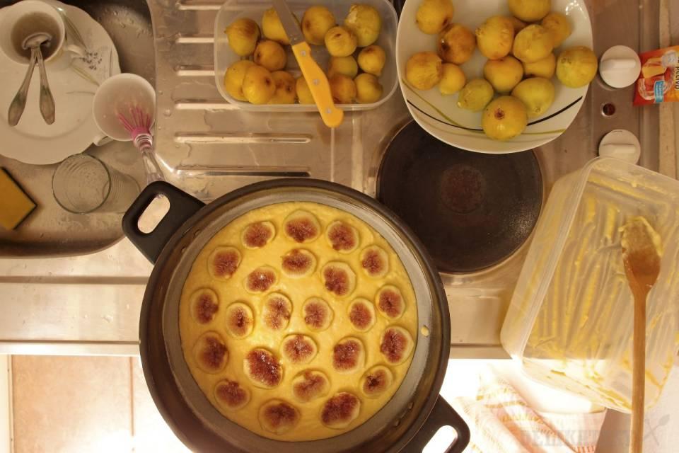 Figový koláč z remosky